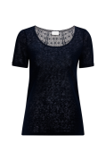 Top viSumi S/S New Back Lace Top