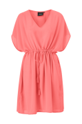 Kjole objMarcella S/S Plain Kaftan Dress