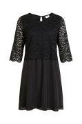 Kjole viLovia Lace 3/4 Dress