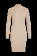 Kjole viAndena Knit Funnel Neck L/S Dress