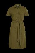 Skjortekjole viSafina S/S Shirt Dress
