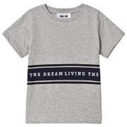 Sometime Soon Living T-shirt Grey Melange 10 år