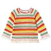 Stella McCartney Kids Multicolor Stripe Sweater 2 years