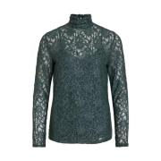 Top Lace high neck