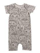 Owen Body Kids Newborn Short-sleeved Multi/mønstret Soft Gallery